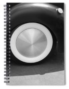 Hot Rod Wheel Spiral Notebook