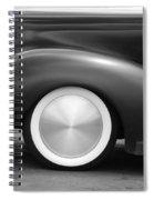 Hot Rod Wheels Spiral Notebook