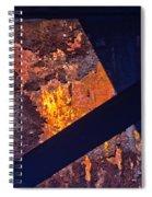 Hot Rust Spiral Notebook