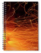 Hot Sparks Spiral Notebook