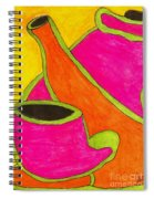 Hot Tea... Cold Juice Spiral Notebook