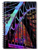 Hot Town Summer In The City Spiral Notebook