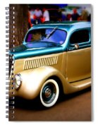 Hot Two Tone Spiral Notebook