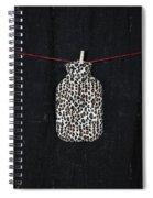 Hot-water Bottle Spiral Notebook