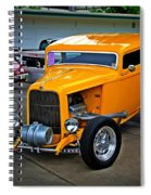 Hot Yellow Spiral Notebook