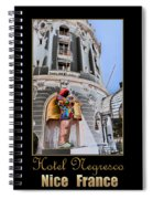 Hotel Negresco France Spiral Notebook
