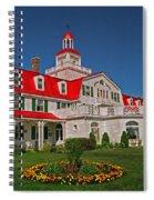 Hotel Tadoussac ... Spiral Notebook