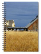 House And Barn Spiral Notebook