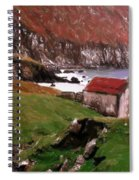 House At The Coast Spiral Notebook