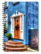 House Of Blues Spiral Notebook