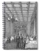 House Of Commons, 1854 Spiral Notebook