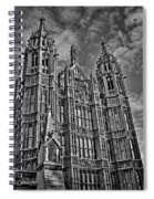House Of Lords Spiral Notebook