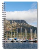 Hout Bay Harbour Spiral Notebook