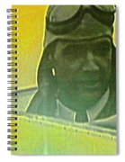 Howard Hughes From The Screen Spiral Notebook
