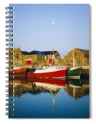 Howth Harbour, County Dublin, Ireland Spiral Notebook