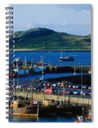 Howth Harbour & Irelands Eye, Co Spiral Notebook