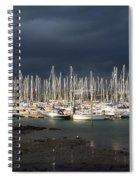Howth Yacht Club Marina, Co Dublin Spiral Notebook