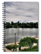 Hoyt Lake Delaware Park 0002 Spiral Notebook