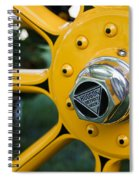Hudson Wheel Spiral Notebook