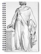 Hugh Capet (c938-996) Spiral Notebook