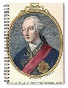 Hugh Percy (1742-1817) Spiral Notebook