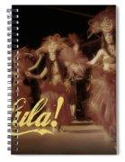 Hula Daguerreotype Spiral Notebook