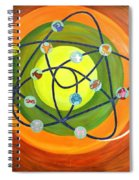 Human Birth Sign Spiral Notebook