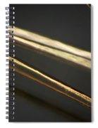 Human Hair Spiral Notebook