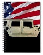 Hummer Patriot Spiral Notebook