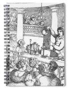 Humphrey Davy Lecturing, 1809 Spiral Notebook