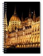 Hungarian Parliament Building Spiral Notebook
