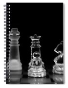 Hunt For The King Spiral Notebook