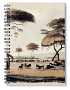 Hunting At Meritsane, Spiral Notebook