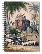 Hunting: Big Game, 1852 Spiral Notebook