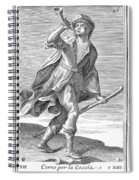 Hunting Horn, 1723 Spiral Notebook