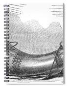 Hunting Horn, 1869 Spiral Notebook