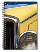 Hupmobile Grille Spiral Notebook