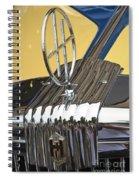 Hupmobile Ornament Spiral Notebook