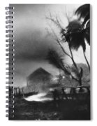 Hurricane In The Caribbean Spiral Notebook