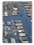 Hurricane Katrina Damage Spiral Notebook