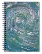 Hurricane Of Light Spiral Notebook