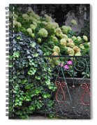 Hydrangeas Salzburg Spiral Notebook