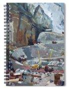 Hydropower Koman Spiral Notebook