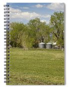 Hygiene Colorado Boulder County Scenic View Spiral Notebook