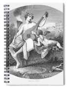 Hymen And Cupid Spiral Notebook