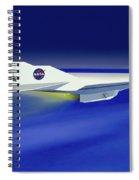 Hyper-x Hypersonic Aircraft Spiral Notebook