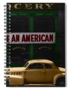 I Am An American Spiral Notebook