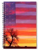 I Am Thankful To Be An American Spiral Notebook