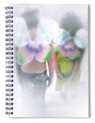 I Dreamed I Was A Butterfly Spiral Notebook