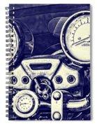 I Love My Bike Spiral Notebook